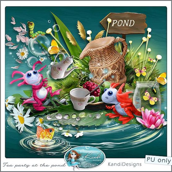 Tea Party at the Pond Preview