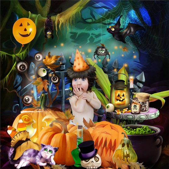 Halloween Afterparty Layout 04